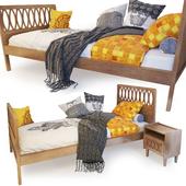 Single bed Malu. LA REDOUTE INTERIEURS.