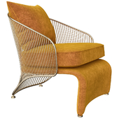 COLETTE Bergere armchair By Minotti