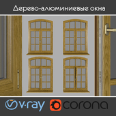 Wood - aluminum windows, view 05 part 02 set 07