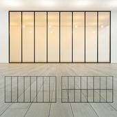Glass partition 18