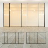 Glass partition 19