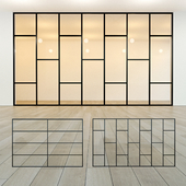 Glass partition 20