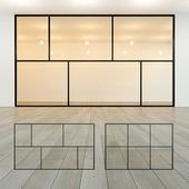 Glass partition 21