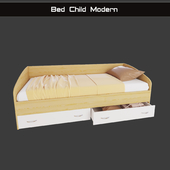 "Children bed ""Modern"" with drawers"