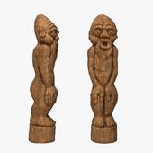 """Скульптура """"Лесной идол"""""""
