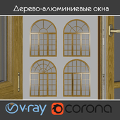 Wood - aluminum windows, view 05 part 02 set 09