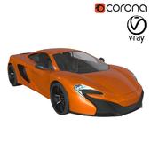 Спортивный автомобиль McLaren 650s