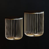 Set of 2 table-baskets
