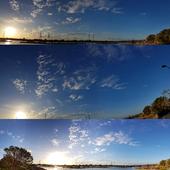 Panorama sky sunset 2