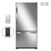 Whirlpool 33-inches wide Bottom-Freezer Refrigerator