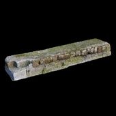 3D scan old brick Step
