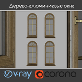 Wood - aluminum windows, view 04 part 02 set 02