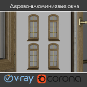 Wood - aluminum windows, view 04 part 02 set 03