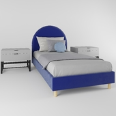 Children's bed Alana for a boy