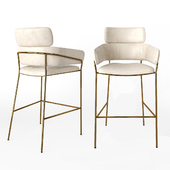 Marino Bar Stool / Beige Latte
