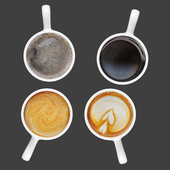 Coffee cup collection- set 02