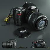 Цифровая камера Nikon D40