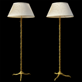 Maison Bagues French Bronze Floor Lamp