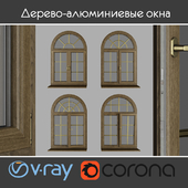 Wood - aluminum windows, view 04 part 02 set 05