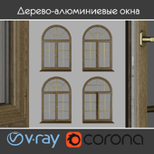 Wood - aluminum windows, view 04 part 02 set 06