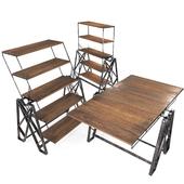 Industial Loft Vintage Table