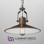 """""""OM"""" Suspension Lumina Deco Settore bronze"""