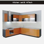 Kitchen Set.6 Hi-Tech (HiTech)