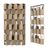 Double-sided shelving 014.