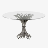 Somerset Dining Table by bernhardt 3d model