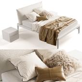 Bed Olivieri Andrea white