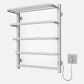 Heated towel rail of LARIS ZEBRA STANDARD