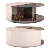 Turri ECLIPSE Round coffee tables
