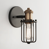 Warehouse Cage Bath Sconce