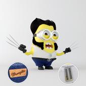 Minion Wolverine Minion Wolverine