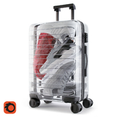 Xiaomi 90 Points Supreme Transparent Suitcase