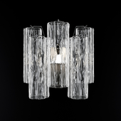 BELLA FIGURA PENTAGON WALL LIGHT WL418 CLEAR
