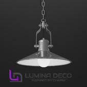 """OM"" Pendant lamp Lumina Deco Settore chrome"
