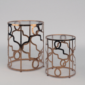 OTTO SIDE TABLES - SET OF 2