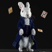 "White Rabbit from ""Alice in Wonderland"""