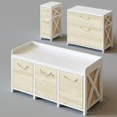 Children's cabinets Zara Home Kids in three sizes