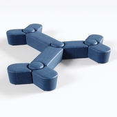 OM Sofa Molecule 11-seater