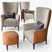 Poliform Gentleman armchair set