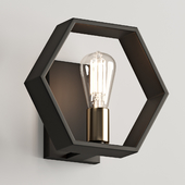 Modern Hexagon Sconce