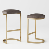 1960S Rome Backless Stool