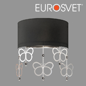 OM Wall lamp with black shade Bogate's 287/2 Papillon