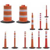 Set the road cones