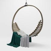 Tom Raffield Amble Hanging Seat chair