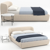 Stay Bed + TS Coffee Table by GUBI