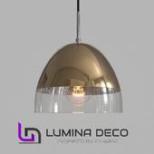 """OM"" Pendant lamp Lumina Deco Arteni gold"