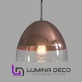 """OM"" Pendant lamp Lumina Deco Arteni pink gold"